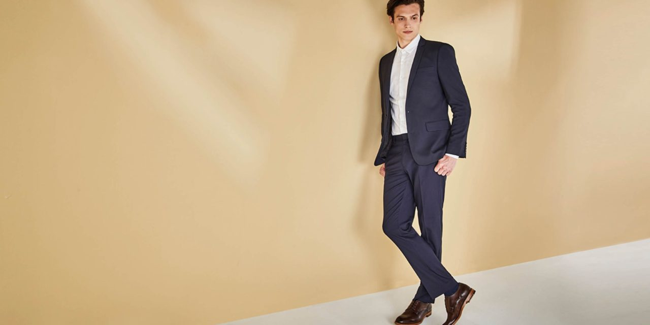 Blue Suit and Brown Shoes: A Match Made in Heaven